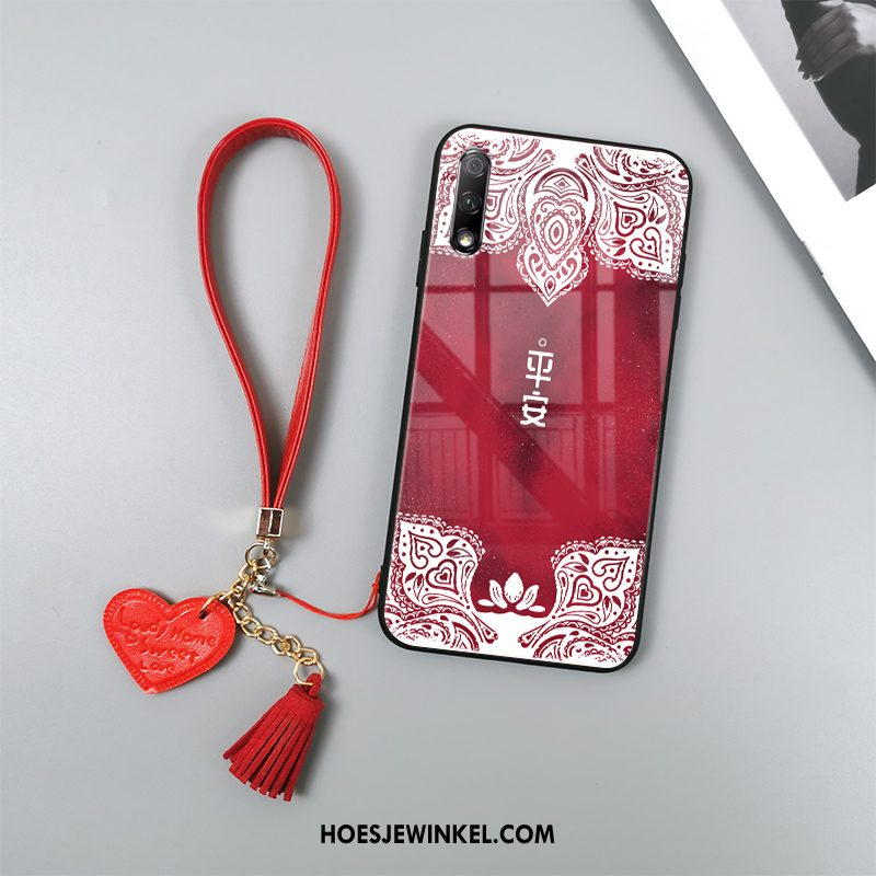 Honor 9x Hoesje All Inclusive Totem Chinese Stijl, Honor 9x Hoesje Rood Mobiele Telefoon
