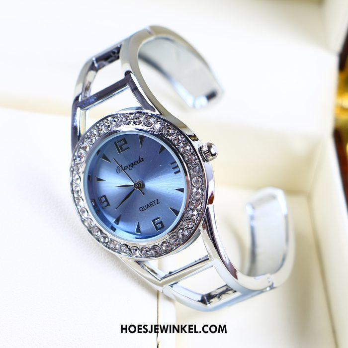 Horloges Dames Mode Trend Quartz Horloge, Horloges Strass Vrouwen
