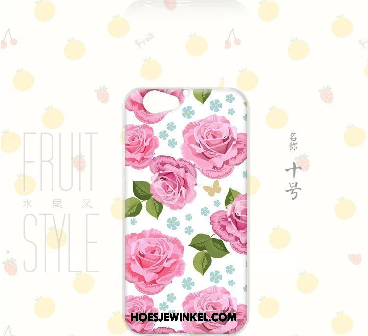 Htc One A9s Hoesje Wind Mobiele Telefoon Fruit, Htc One A9s Hoesje Bloemen Anti-fall