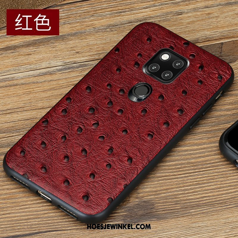 Huawei Mate 20 Hoesje Mobiele Telefoon Echt Leer All Inclusive, Huawei Mate 20 Hoesje Luxe High End