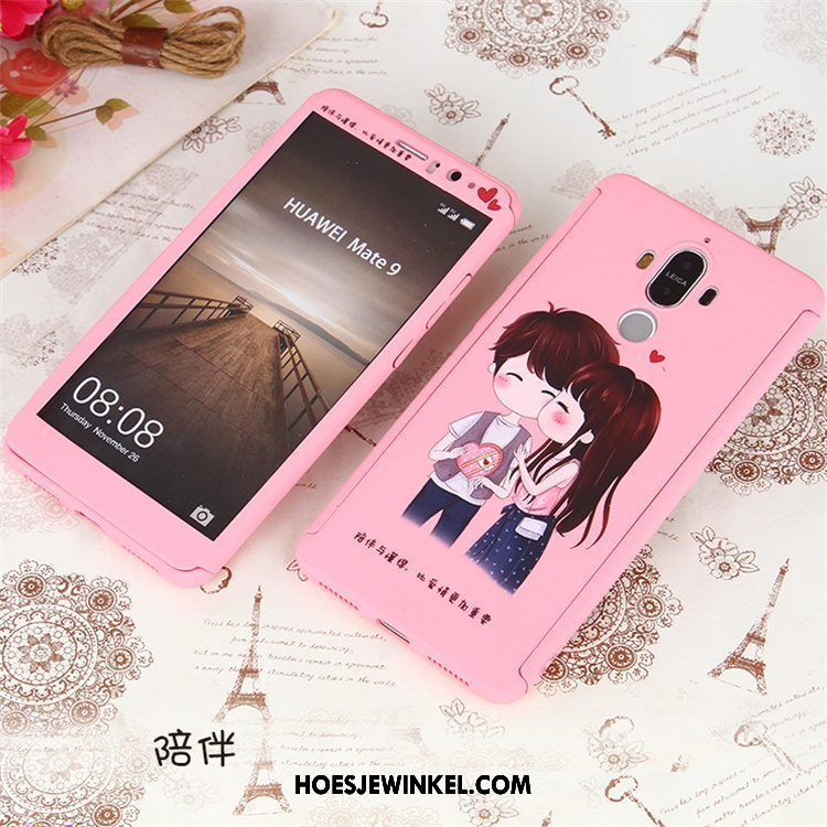 Huawei Mate 9 Hoesje All Inclusive Mobiele Telefoon Roze, Huawei Mate 9 Hoesje Anti-fall Trend