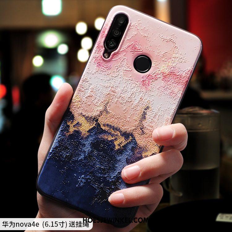 Huawei P30 Lite Hoesje Zacht Dun Mode, Huawei P30 Lite Hoesje Anti-fall Lovers