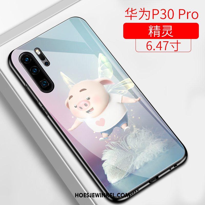 Huawei P30 Pro Hoesje Mooie Hoes Anti-fall, Huawei P30 Pro Hoesje Hard Scheppend