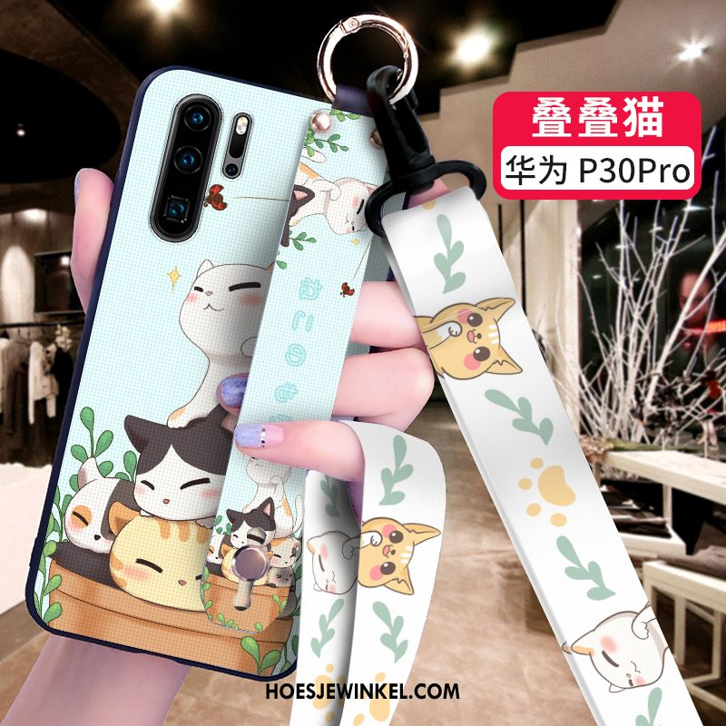 Huawei P30 Pro Hoesje Spotprent Scheppend Mobiele Telefoon, Huawei P30 Pro Hoesje Hoes Bescherming