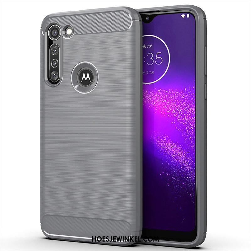 Moto G8 Power Hoesje Grijs Anti-fall Mobiele Telefoon, Moto G8 Power Hoesje Zacht All Inclusive