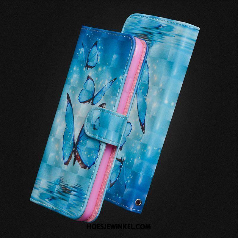 Nokia 5 Hoesje Leren Etui Siliconen Zacht, Nokia 5 Hoesje Hanger Mobiele Telefoon