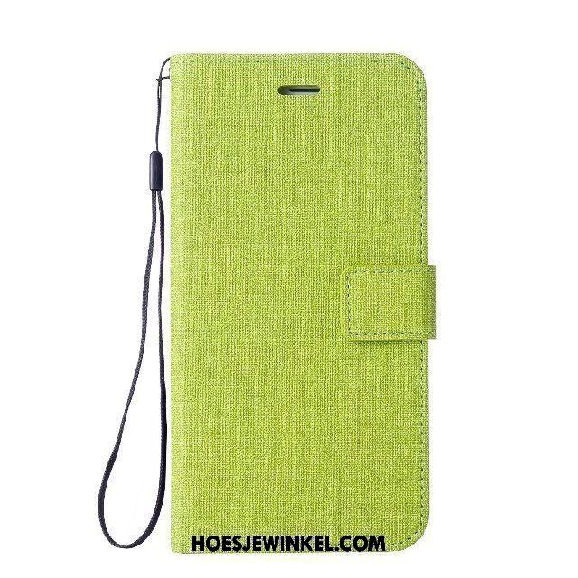 Nokia 5 Hoesje Mobiele Telefoon Ondersteuning Groen, Nokia 5 Hoesje Folio Zacht
