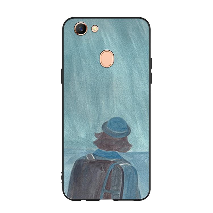 Oppo A73 Hoesje Handbeschilderde Kunst Mobiele Telefoon, Oppo A73 Hoesje Bescherming Hoes
