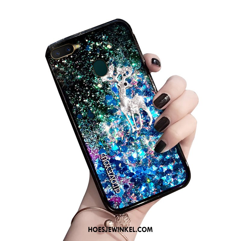 Oppo Ax7 Hoesje Anti-fall Hoes All Inclusive, Oppo Ax7 Hoesje Scheppend Trendy Merk