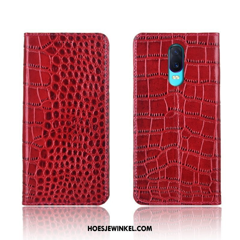 Oppo R17 Hoesje Anti-fall Clamshell All Inclusive, Oppo R17 Hoesje Rood Hoes