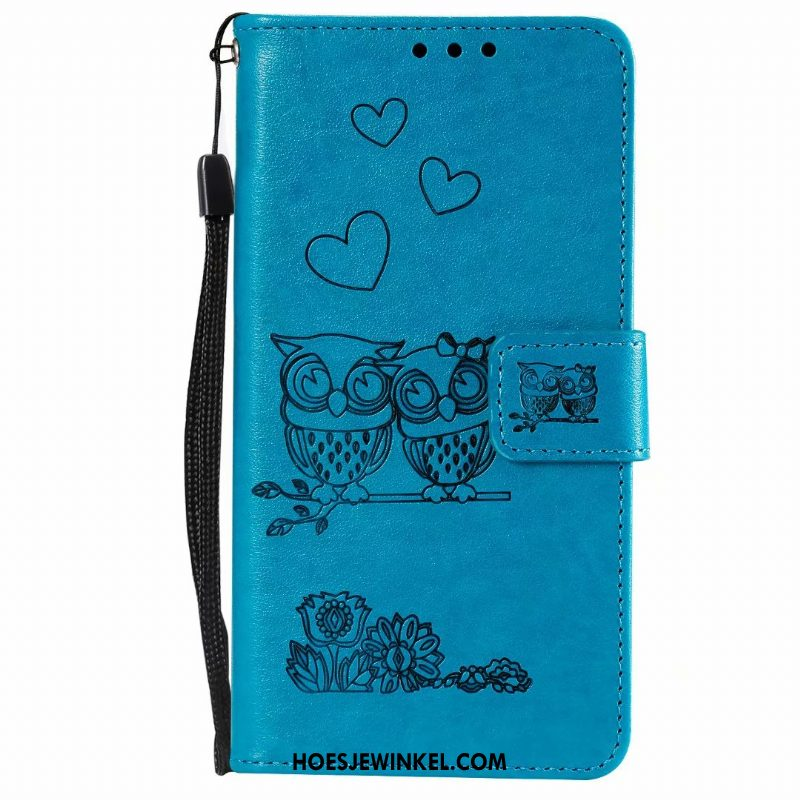 Samsung Galaxy A10 Hoesje Hoes Folio Spotprent, Samsung Galaxy A10 Hoesje Mobiele Telefoon Leren Etui