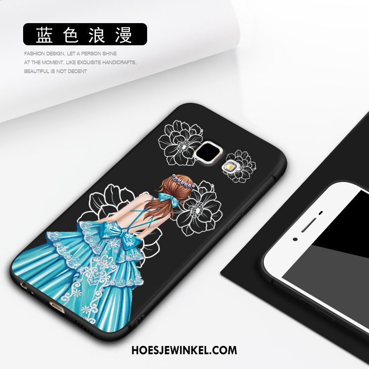 Samsung Galaxy A3 2016 Hoesje Anti-fall Hoes Bescherming, Samsung Galaxy A3 2016 Hoesje Scheppend Siliconen