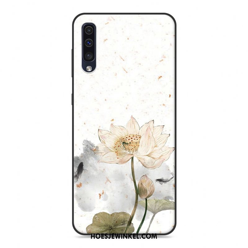 Samsung Galaxy A30s Hoesje Chinese Stijl Hoes Ster, Samsung Galaxy A30s Hoesje Bescherming Scheppend