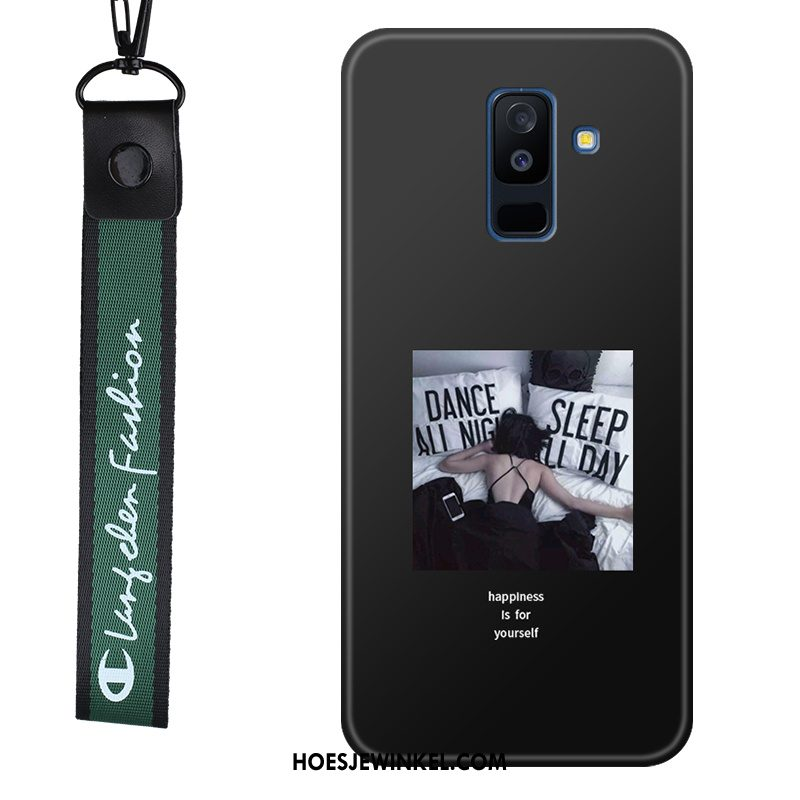 Samsung Galaxy A6 Hoesje Ster Hanger Anti-fall, Samsung Galaxy A6 Hoesje Zacht Mobiele Telefoon