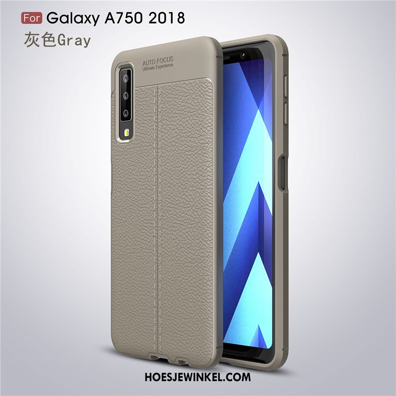 Samsung Galaxy A7 2018 Hoesje Trend Hoes Mobiele Telefoon, Samsung Galaxy A7 2018 Hoesje Ster Nieuw