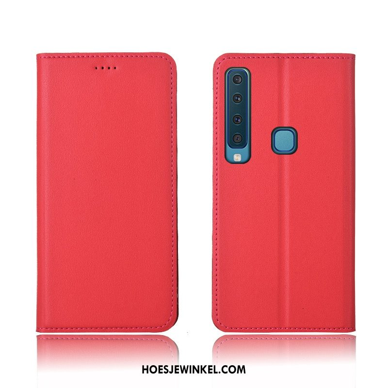 Samsung Galaxy A9 2018 Hoesje Hoes Rood Anti-fall, Samsung Galaxy A9 2018 Hoesje All Inclusive Mobiele Telefoon