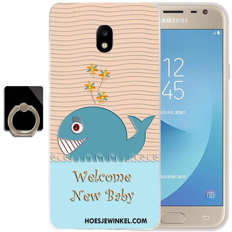 Samsung Galaxy J3 2017 Hoesje All Inclusive Ster Mobiele Telefoon, Samsung Galaxy J3 2017 Hoesje Bescherming Hoes