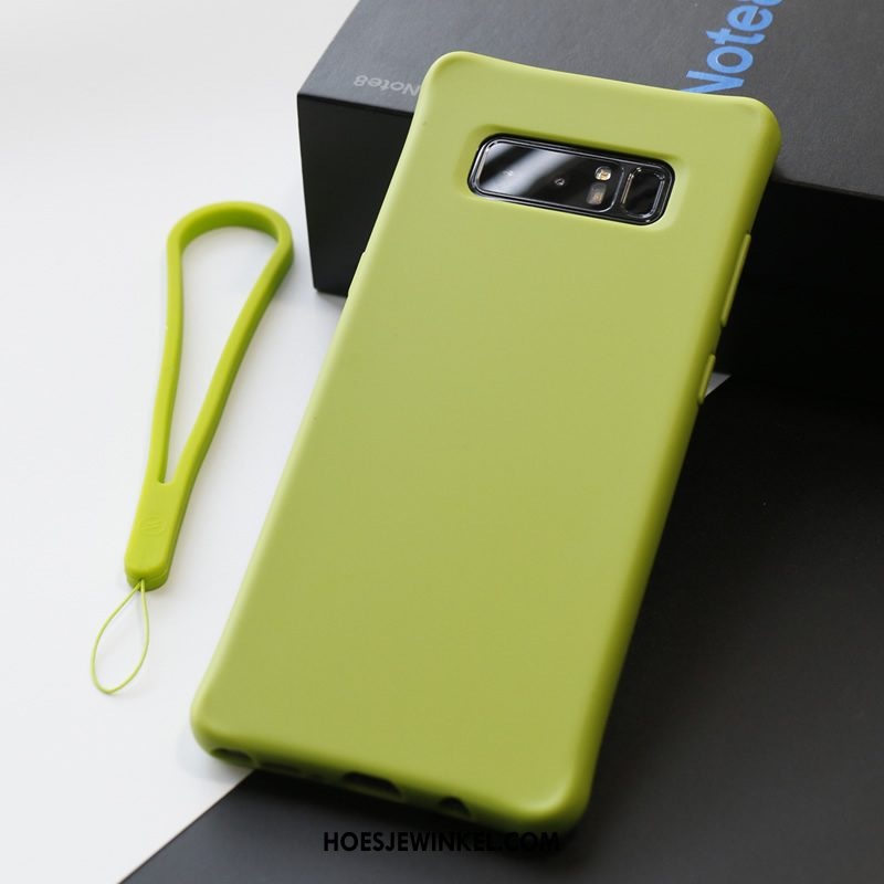 Samsung Galaxy Note 8 Hoesje Anti-fall Hoes Licht, Samsung Galaxy Note 8 Hoesje Doek Mobiele Telefoon