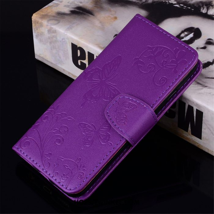 Samsung Galaxy Note 9 Hoesje Anti-fall Leren Etui Mobiele Telefoon, Samsung Galaxy Note 9 Hoesje Purper All Inclusive