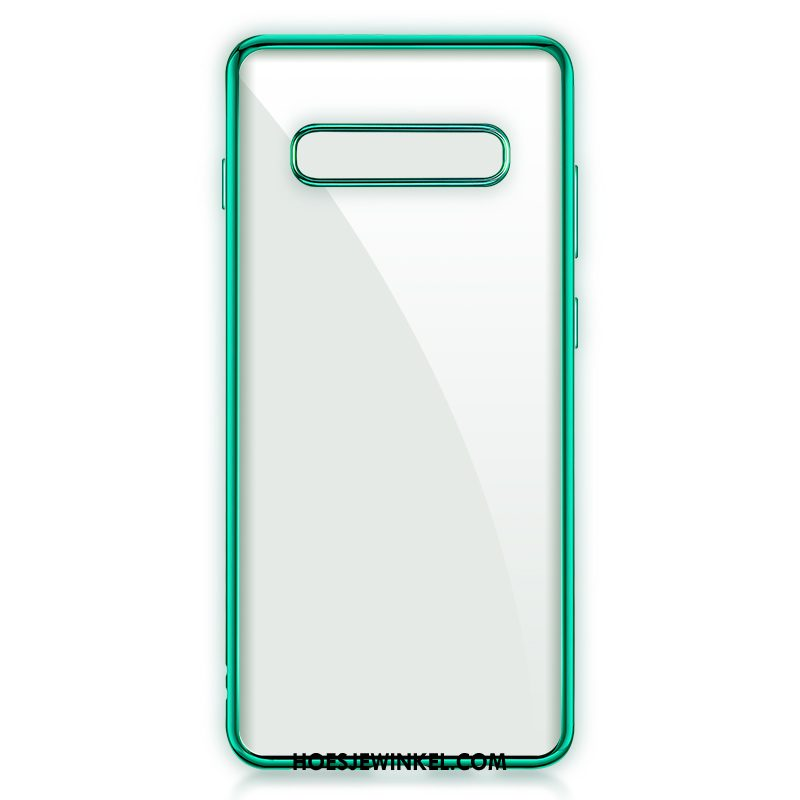Samsung Galaxy S10 5g Hoesje All Inclusive Ster Zacht, Samsung Galaxy S10 5g Hoesje Plating Mobiele Telefoon