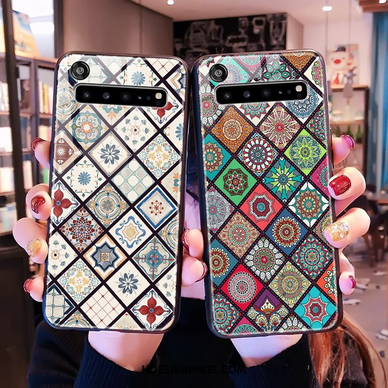 Samsung Galaxy S10 5g Hoesje Hard Groen Chinese Stijl, Samsung Galaxy S10 5g Hoesje Mobiele Telefoon Scheppend