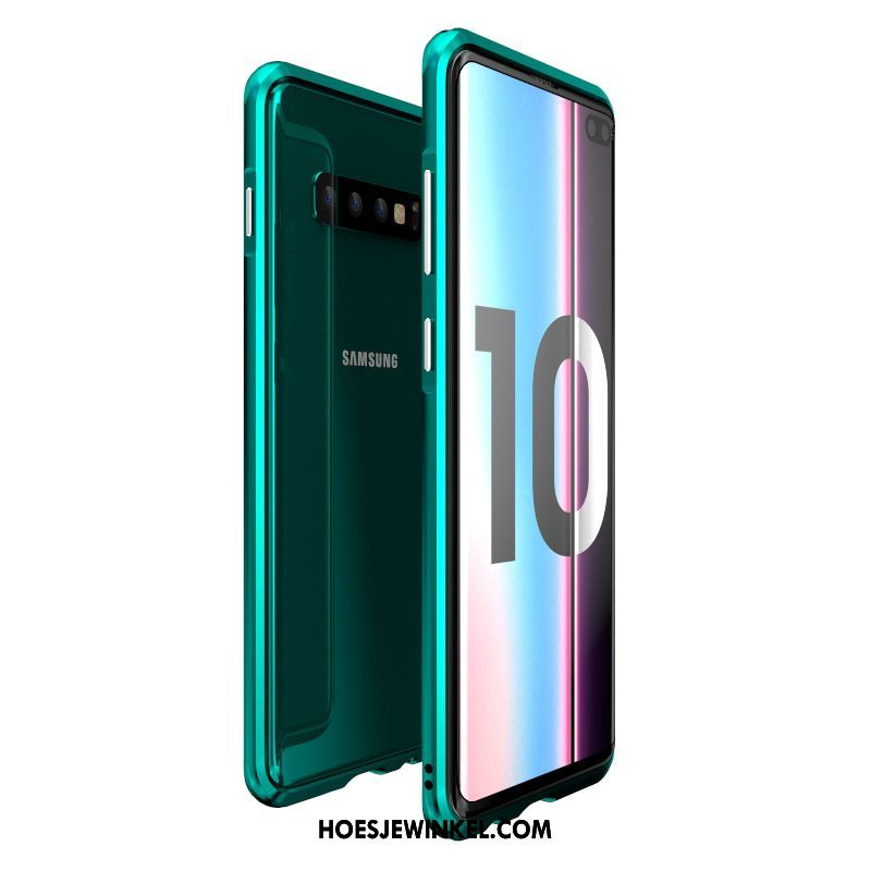 Samsung Galaxy S10+ Hoesje Doorzichtig Mode All Inclusive, Samsung Galaxy S10+ Hoesje Net Red Bescherming