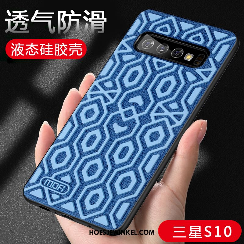 Samsung Galaxy S10 Hoesje High End Siliconen Antislip, Samsung Galaxy S10 Hoesje Anti-fall Ster
