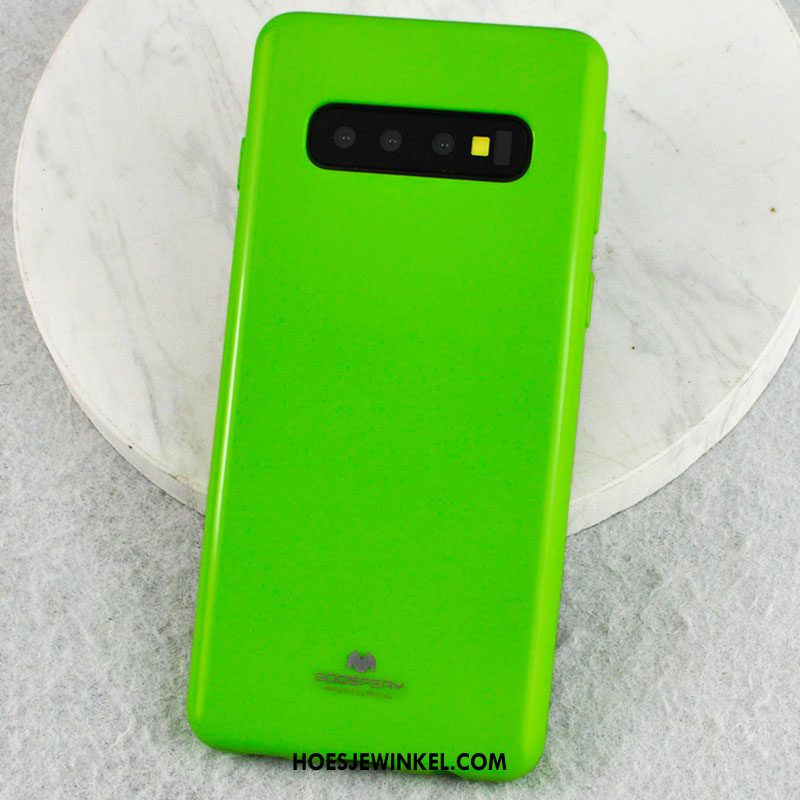 Samsung Galaxy S10 Hoesje Hoes Siliconen Anti-fall, Samsung Galaxy S10 Hoesje Ster Mobiele Telefoon