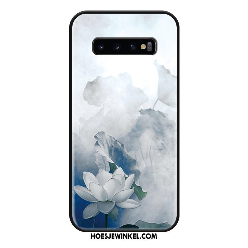 Samsung Galaxy S10 Hoesje Ster Chinese Stijl Hoes, Samsung Galaxy S10 Hoesje Vintage Mode