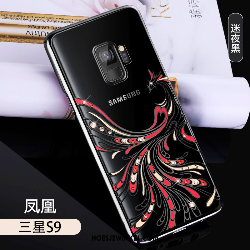 Samsung Galaxy S9 Hoesje All Inclusive Persoonlijk Luxe, Samsung Galaxy S9 Hoesje Lichte En Dun Met Strass
