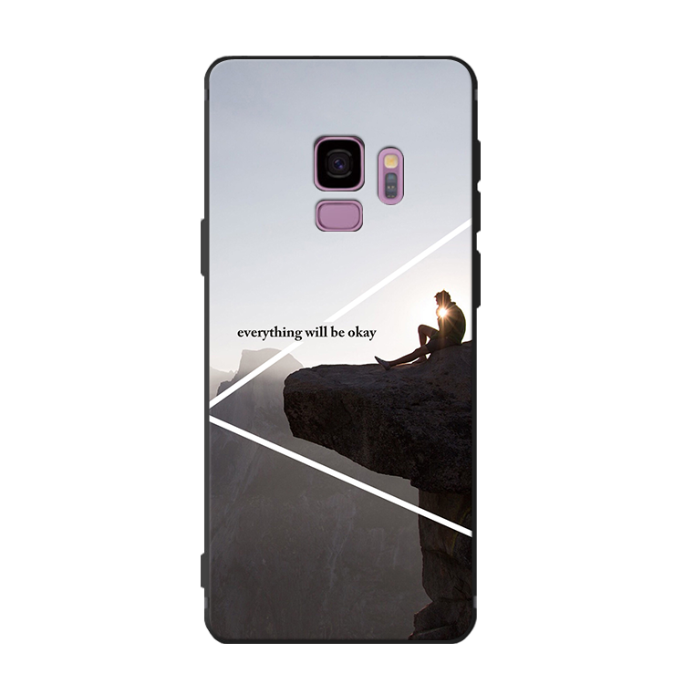 Samsung Galaxy S9 Hoesje Wit Siliconen Hoes, Samsung Galaxy S9 Hoesje Anti-fall Bescherming