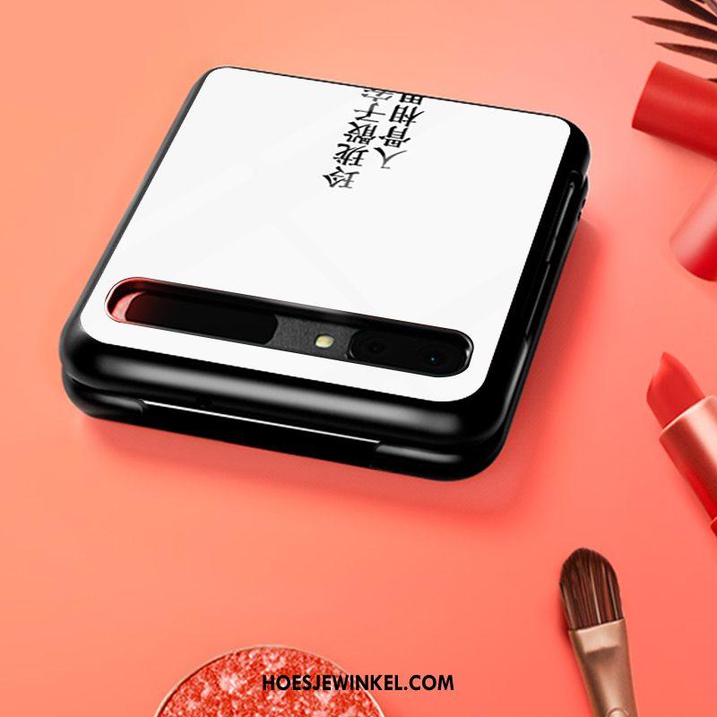 Samsung Z Flip Hoesje Hard Bescherming Mobiele Telefoon, Samsung Z Flip Hoesje Pas Chinese Stijl