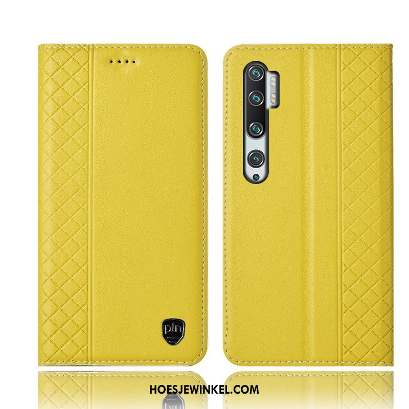 Xiaomi Mi Note 10 Hoesje Mini Anti-fall Hoes, Xiaomi Mi Note 10 Hoesje Bescherming All Inclusive Beige