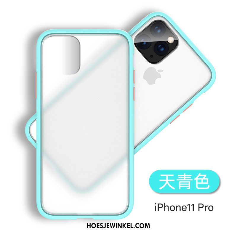 iPhone 11 Pro Hoesje All Inclusive Hoes Dun, iPhone 11 Pro Hoesje High End Trend