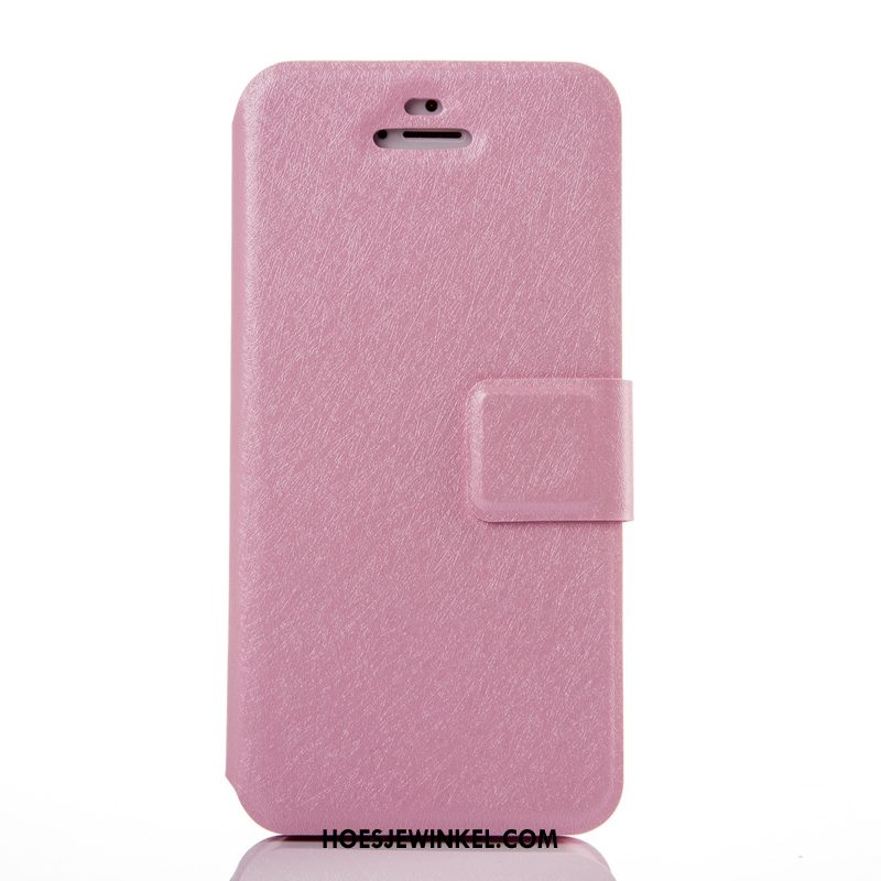 iPhone 5 / 5s Hoesje All Inclusive Bescherming Anti-fall, iPhone 5 / 5s Hoesje Zilver Clamshell