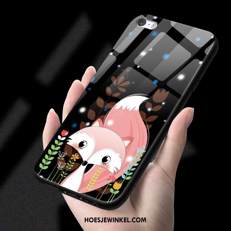 iPhone 5 / 5s Hoesje Anti-fall Zwart Zacht, iPhone 5 / 5s Hoesje Mobiele Telefoon Hoes