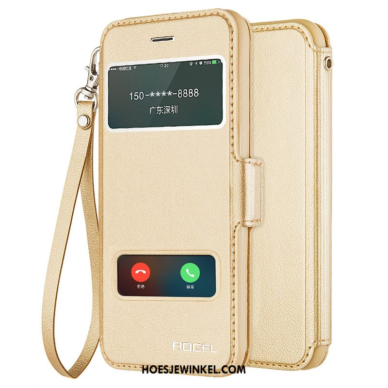 iPhone 5 / 5s Hoesje Bescherming Folio Anti-fall, iPhone 5 / 5s Hoesje Trend Goud