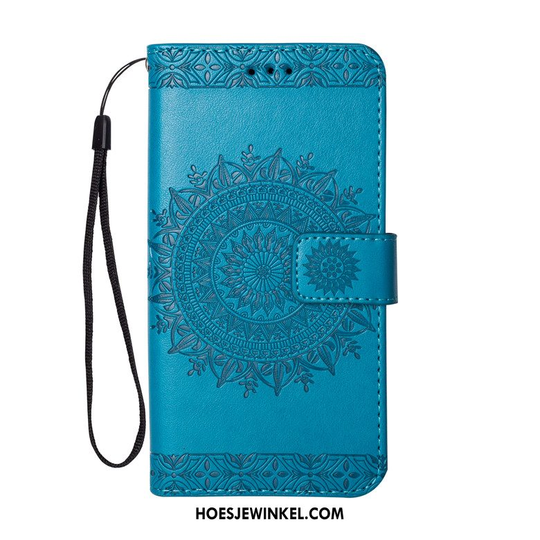 iPhone 5 / 5s Hoesje Hoes Anti-fall Blauw, iPhone 5 / 5s Hoesje Mobiele Telefoon Clamshell