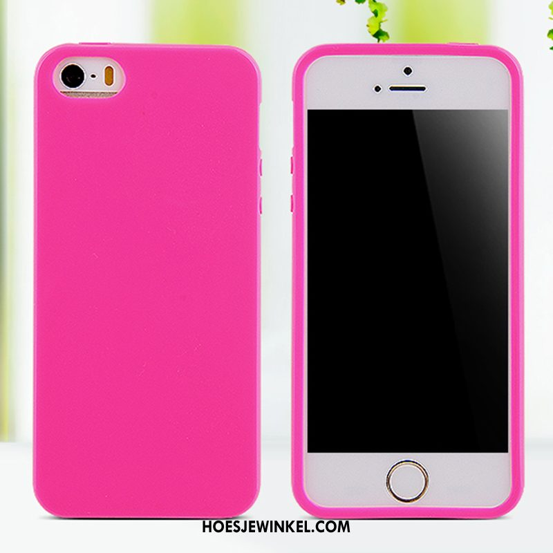 iPhone 5c Hoesje Grote Siliconen Rood, iPhone 5c Hoesje Anti-fall Bescherming