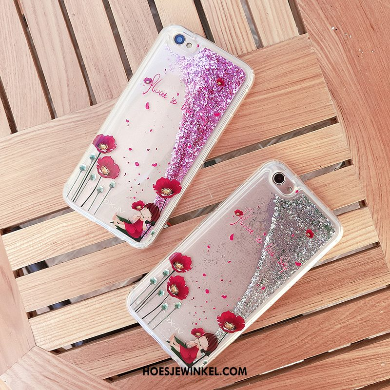 iPhone 6 / 6s Plus Hoesje Grijs Siliconen All Inclusive, iPhone 6 / 6s Plus Hoesje Mobiele Telefoon Drijfzand
