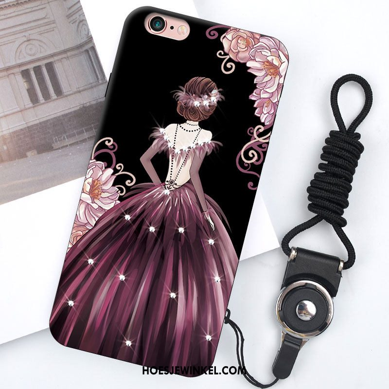 iPhone 6 / 6s Plus Hoesje Scheppend Hoes Anti-fall, iPhone 6 / 6s Plus Hoesje Mode Siliconen