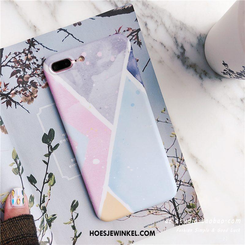iPhone 7 Plus Hoesje Geometrie Kleur Wind, iPhone 7 Plus Hoesje All Inclusive Mobiele Telefoon