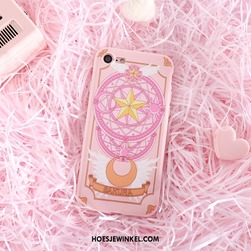 iPhone Se Hoesje All Inclusive Mobiele Telefoon Roze, iPhone Se Hoesje Mini Siliconen