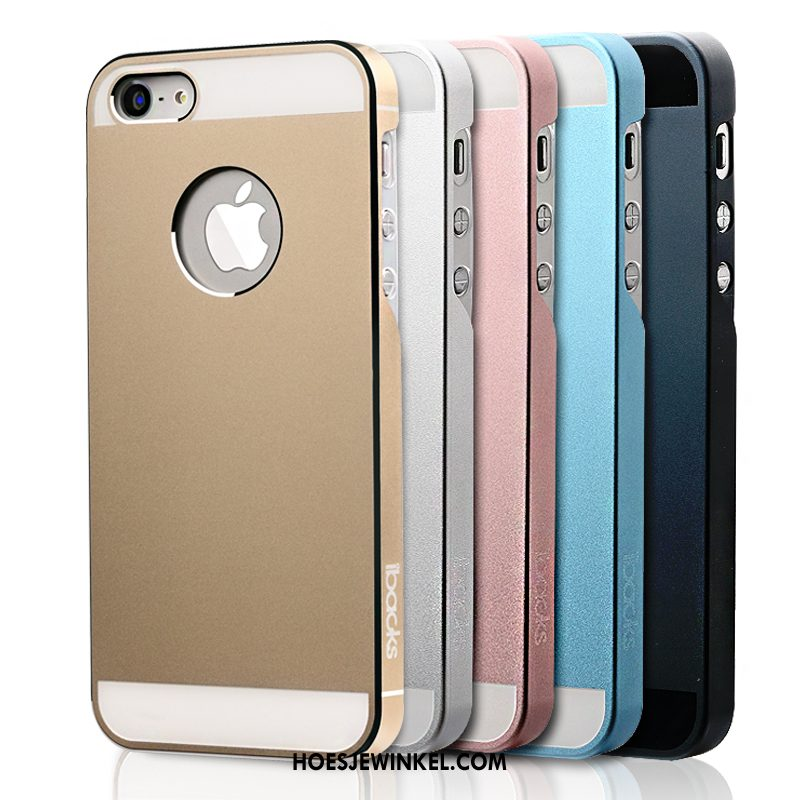 iPhone Se Hoesje Goud Hoes Anti-fall, iPhone Se Hoesje Hard Dun