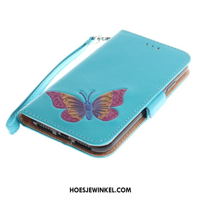 iPhone Se Hoesje Hoes Trend Anti-fall, iPhone Se Hoesje Blauw All Inclusive