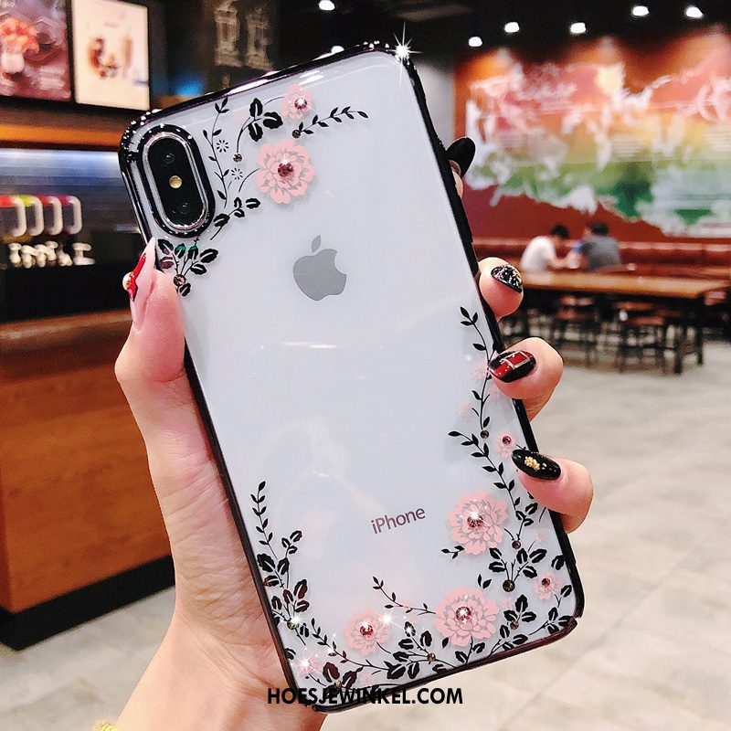 iPhone Xs Max Hoesje Hoes Anti-fall All Inclusive, iPhone Xs Max Hoesje Net Red Mobiele Telefoon