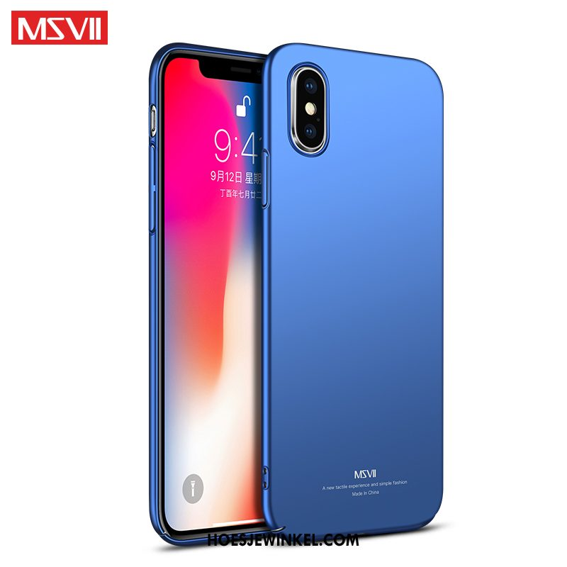 iPhone Xs Max Hoesje Trendy Merk Hoes Anti-fall, iPhone Xs Max Hoesje Mobiele Telefoon Siliconen